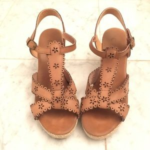 Wedge Sandals Size 37